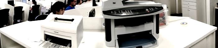 Foto panorâmica da HP LaserJet M1522nf