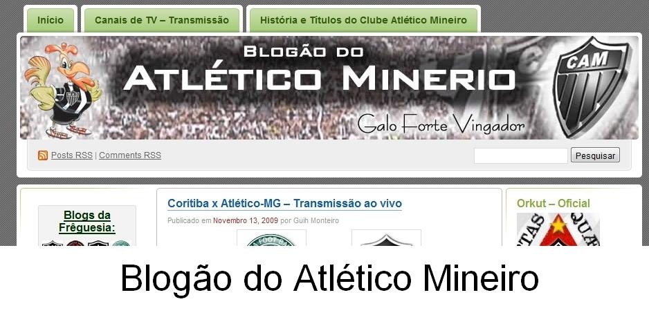 Blogão do Atlético Mineiro