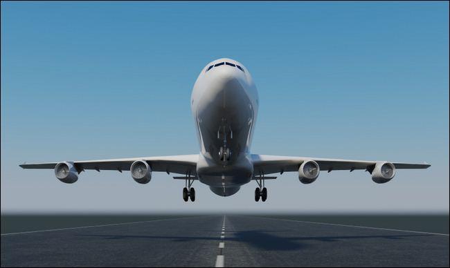 Novas tecnologias nos aviões