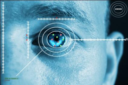 Scanner de retina e íris.