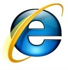A tradicional logo do Internet Explorer
