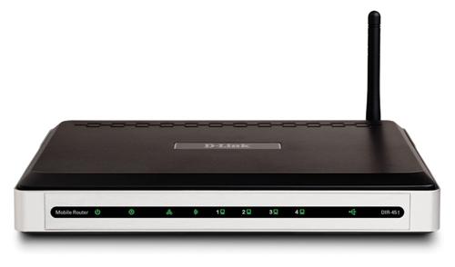 Roteador 3G DIR-451, compatível com todas as operadoras de telefonia celular