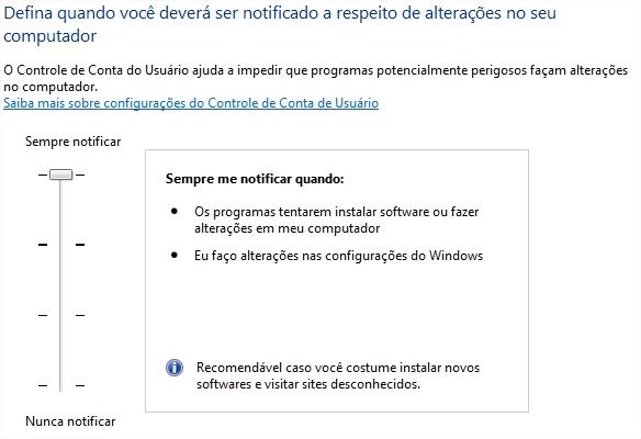 Seja notificado sempre que ocorrerem mudanças no seu computador!