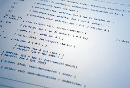 CSS é atibuição do designer.