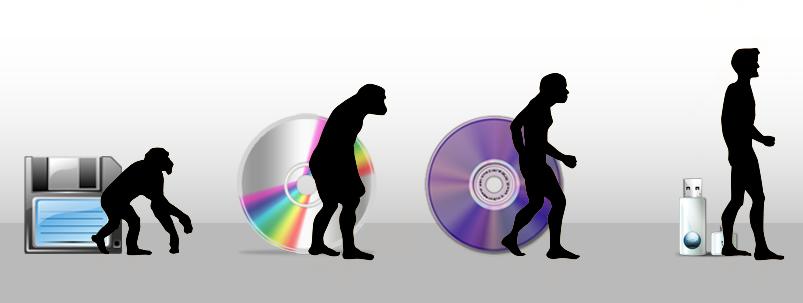 A evolução da memória e armazenamento