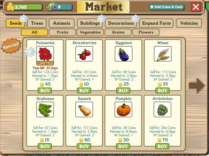 Compre insumos para a sua fazenda!