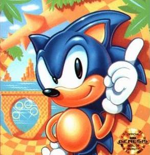 Um concorrente de peso para o Mario: Sonic, o porco-espinho.