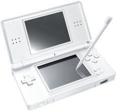 O DS, sucesso portátil da Nintendo.