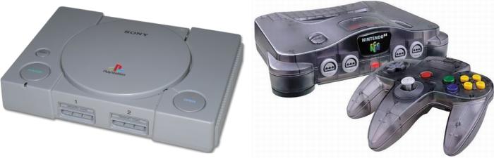 N64 e PlayStation tiveram um Natal farto em 1996.