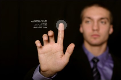 O touchscreen por ondas acústicas pode unir a vantagem dos outros dois sistemas