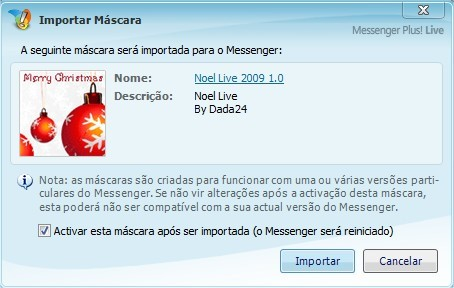 Use o MSN Plus para personalizar seu desktop!