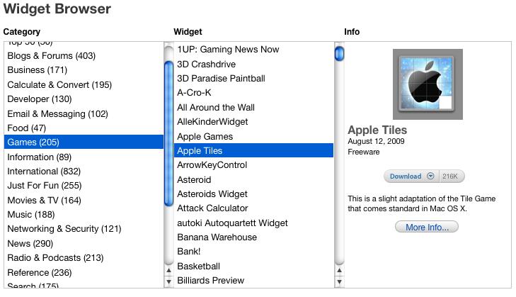 Encontre o widget perfeito