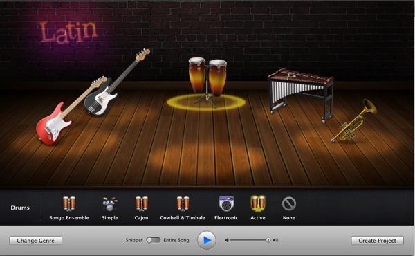 Crie as músicas que quiser com o GarageBand!