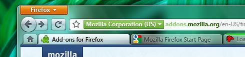 Visual do novo Firefox. Foto: reprodução blog Stephen Horlander.