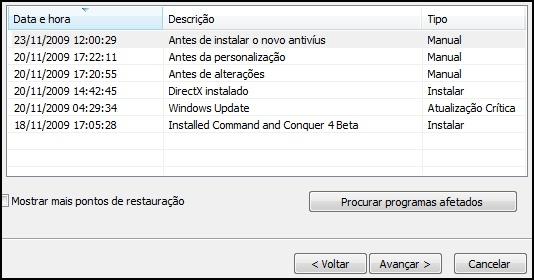[Tutorial]Criando um ponto de restauração no Windows 7 35466