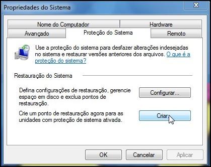 [Tutorial]Criando um ponto de restauração no Windows 7 38000