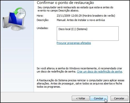 [Tutorial]Criando um ponto de restauração no Windows 7 51764
