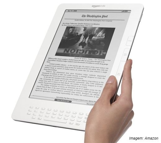 Kindle DX agora é internacional