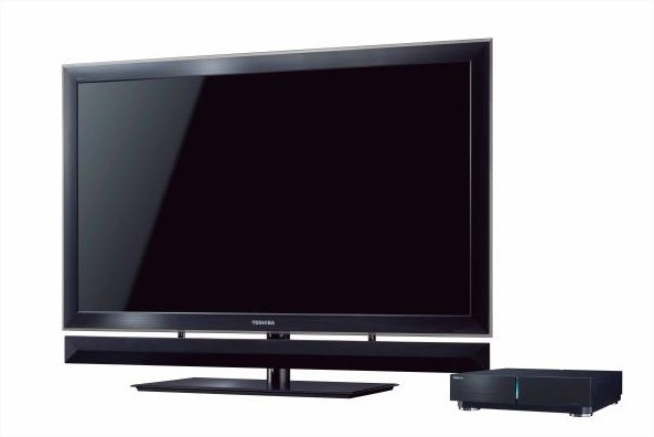 Toshiba e as CELL TVS
