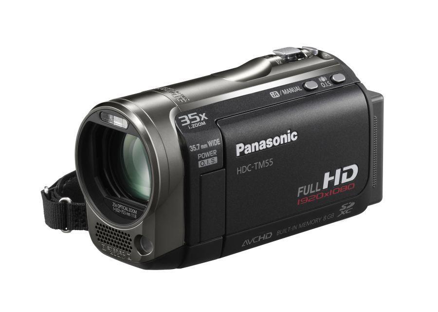 Filmadora da Panasonic na CES 2010