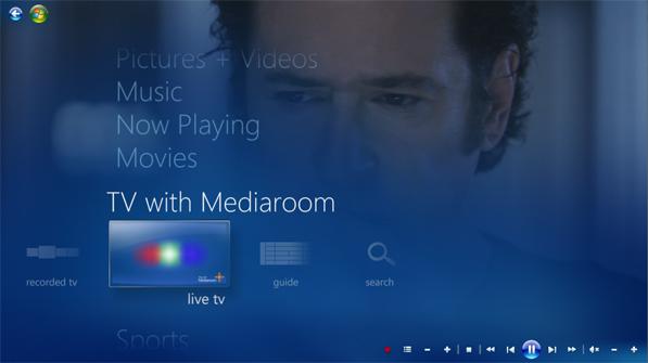 Media Room 2.0. Foto: Microsoft/Divulgação.