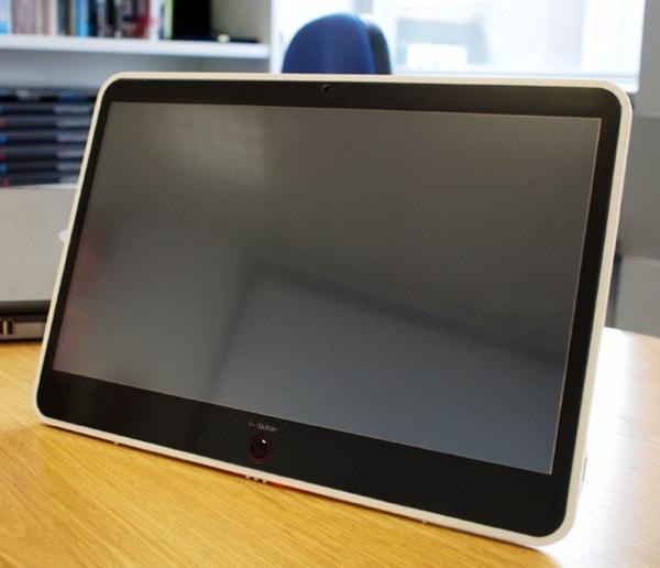 Visual do novo tablet. Foto: NVIDIA/Divulgação.