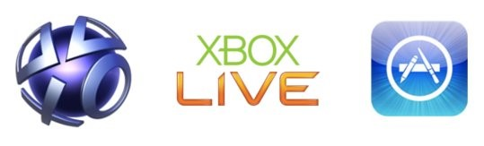 PSN - Xbox Live - App Store