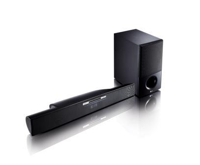 Barra de som + player de Blu-ray