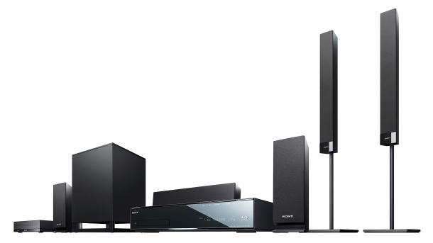Novo home theater da Sony integra Blu-ray e 3D.