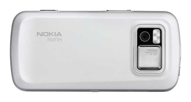 A câmera do Nokia N97
