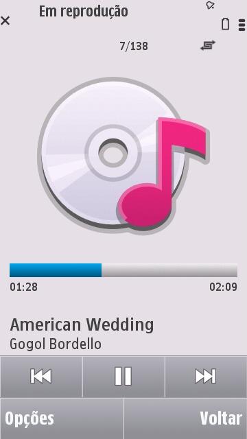 Music Player do Symbian v5