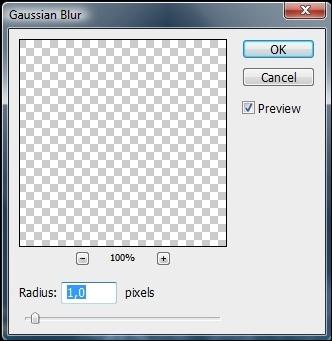 Aplique somente um pixel.