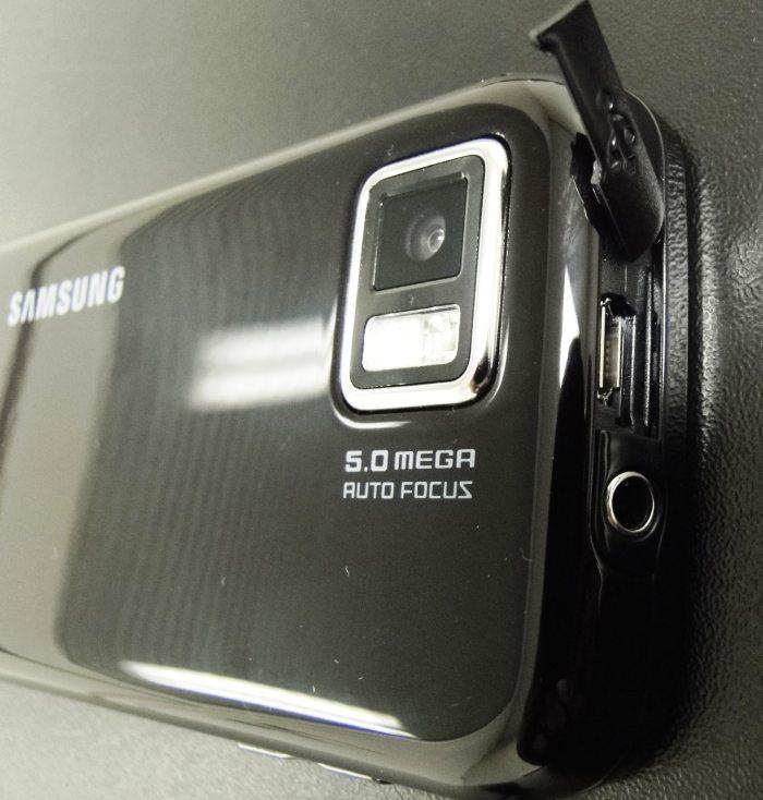 Câmera de 5 MP e entradas P2 e USB