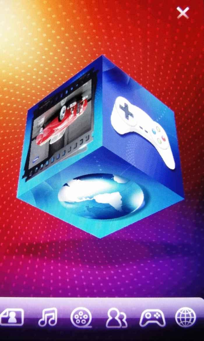 Visualização em cubo