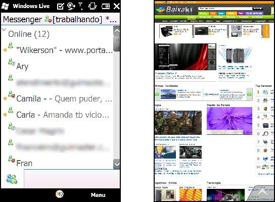 Aplicativos para interagir na internet