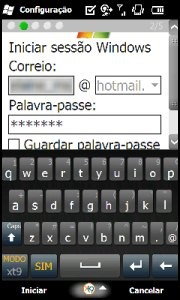 Teclado do sistema