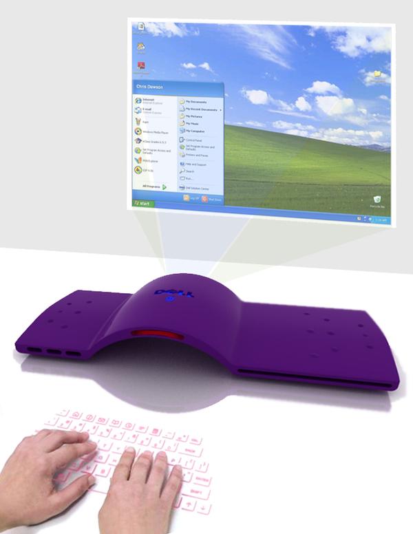 Projeções para monitor e teclado / Foto: Paulina Carlos (clique para ampliar)