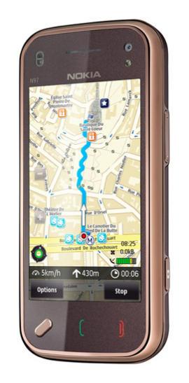Ovi Maps no smartphone