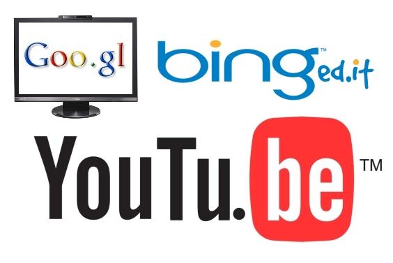 As três grandes empresas da internet cederam aos links diminuídos.