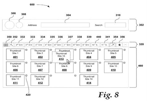 Imagens da patente