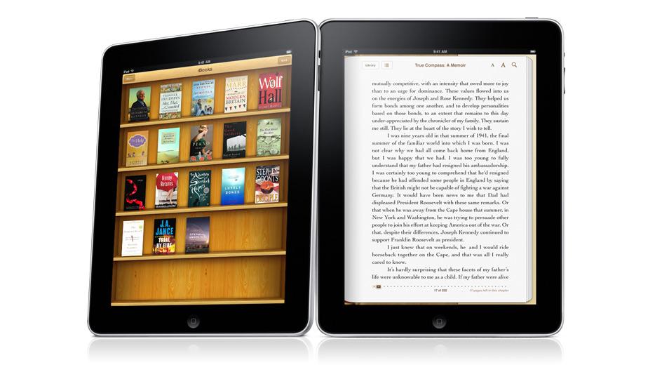iPad também é e-reader