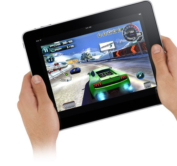 Games terão destaque no iPad