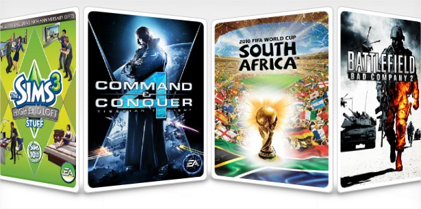 EA e seus jogos