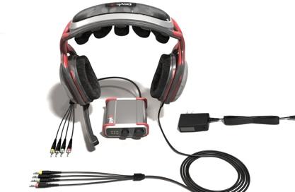 Além do fone, o Psyko 5.1 Gaming Headset também conta com um amplificador