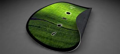 Ilustração do  dispositivo fléxivel da Nokia