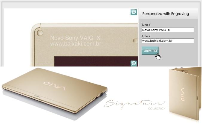 Modelo colecionador tem SSD de 128 GB e visual perfeito