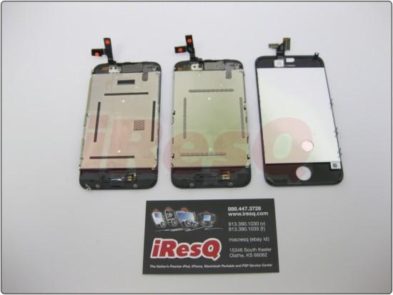 Supostas peças do novo iPhone.