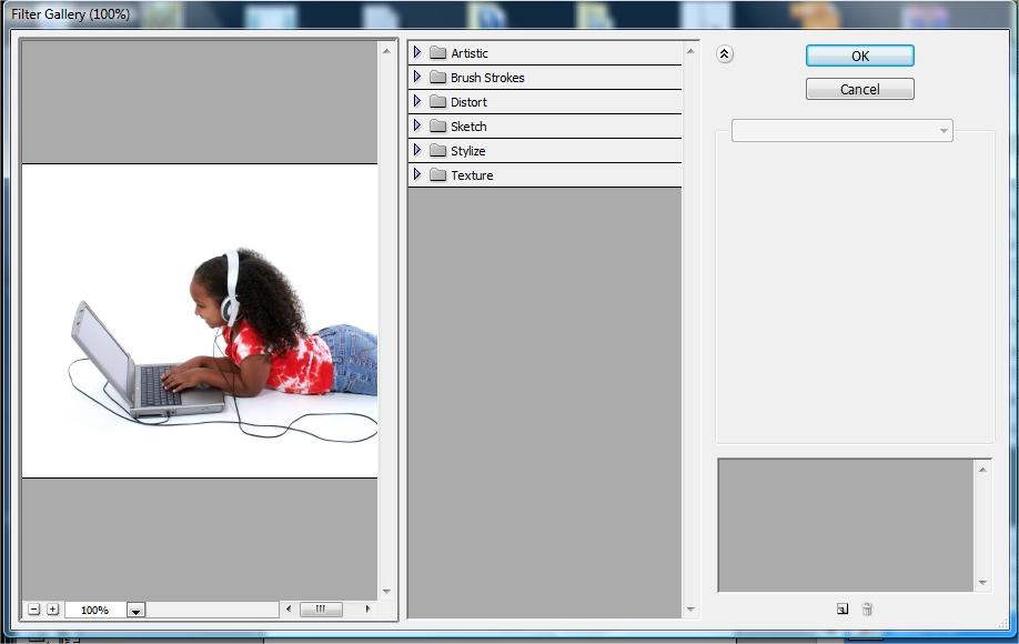 O Photoshop possui uma vasta galeria de filtros!