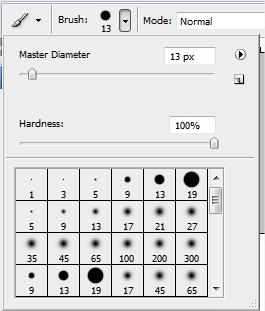 A configuração de  pincéis é muito importante para qualquer editor de imagem!