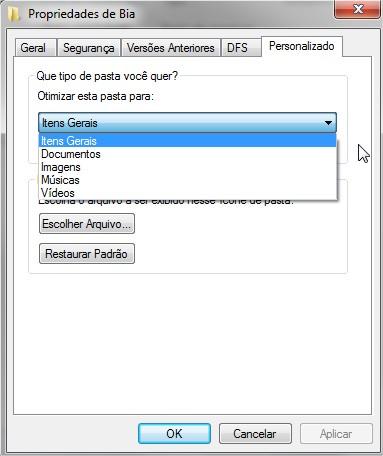 Windows 7: abra pastas a jato!